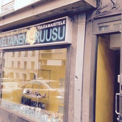 Keltainen Ruusu, Helsinki