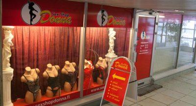 Sex Shop Donna, Kouvola